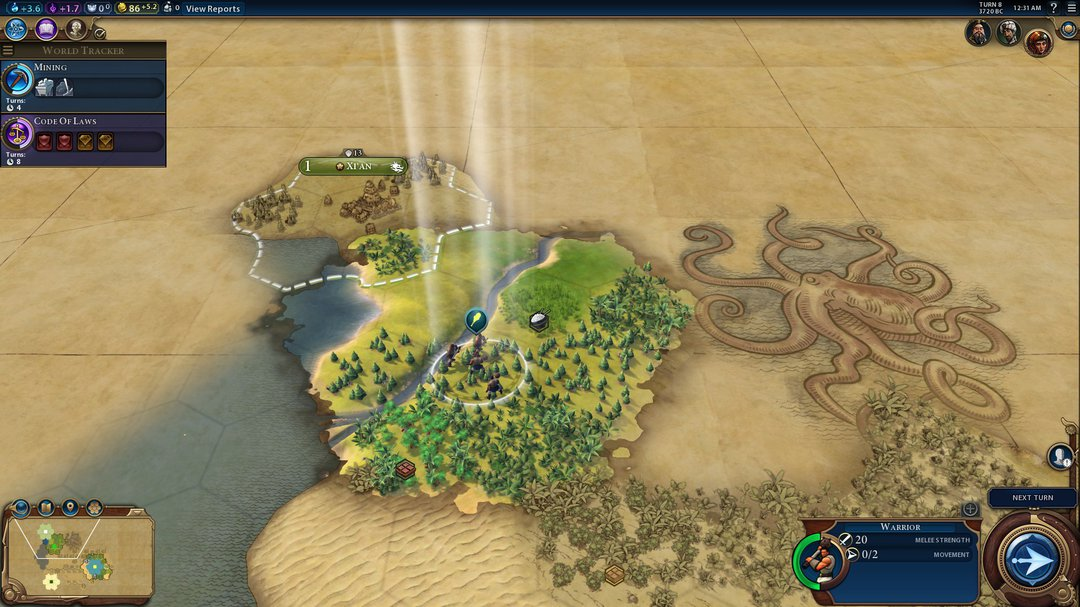 Civ 6 Exploration