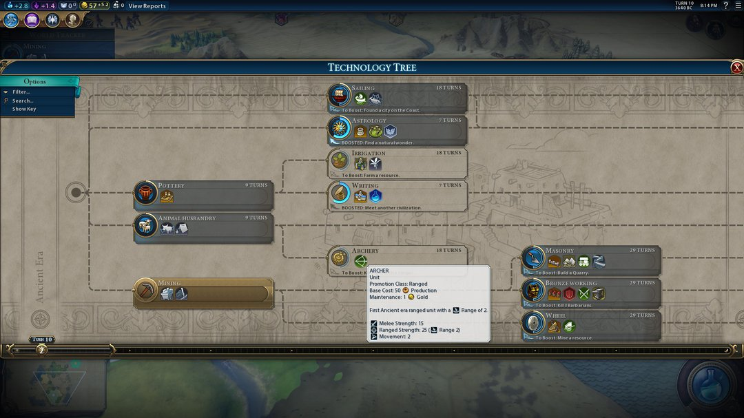 Civ 6 Tech Tree