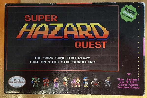 Super Hazard Quest Kickstarter 1