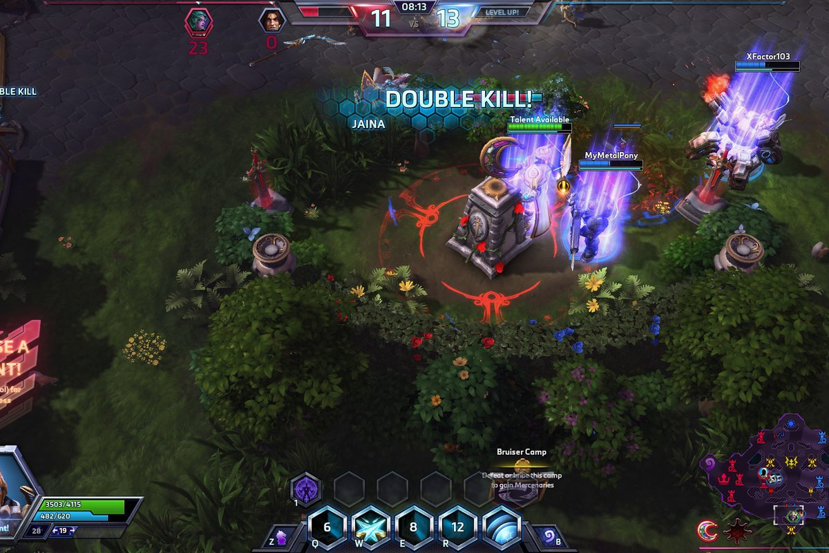 bad manners heroes of the storm