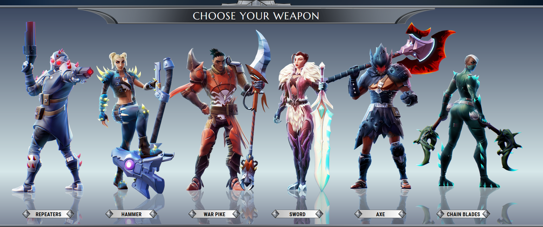dauntless weapons