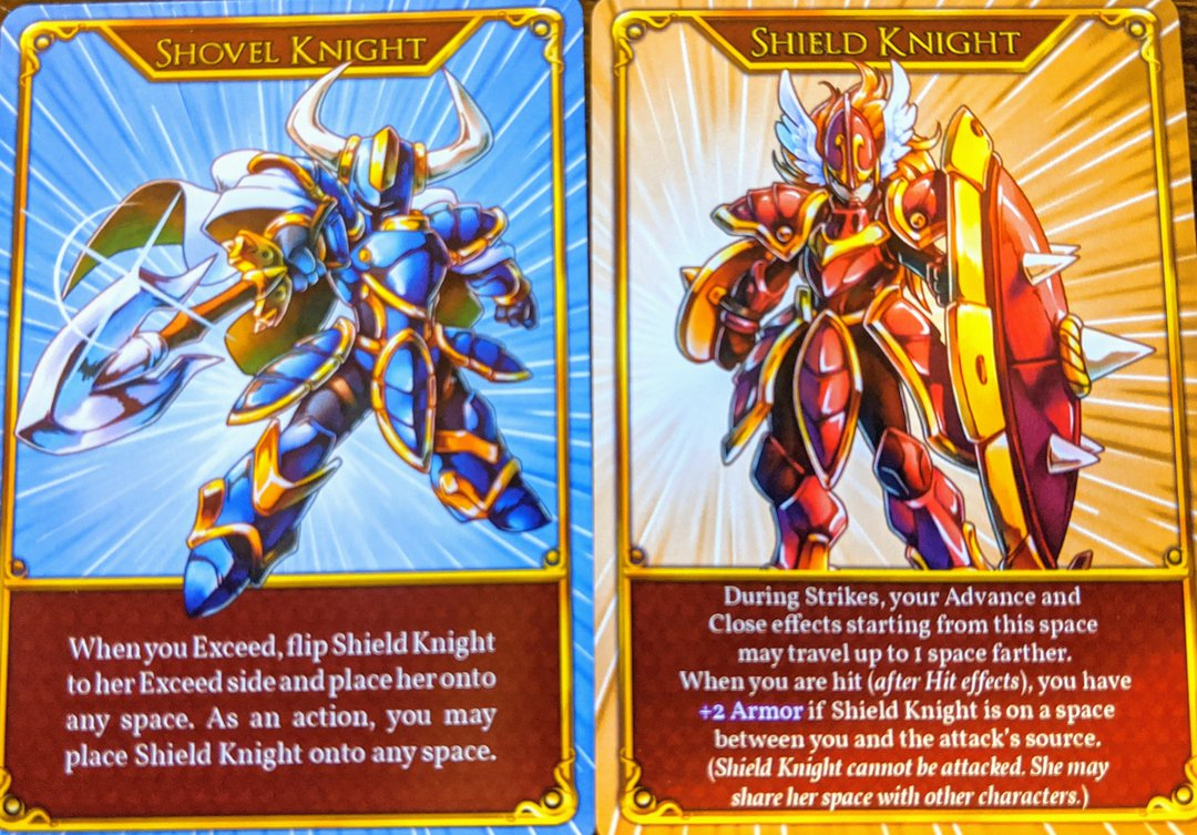 exceed shovel knight and shield knight