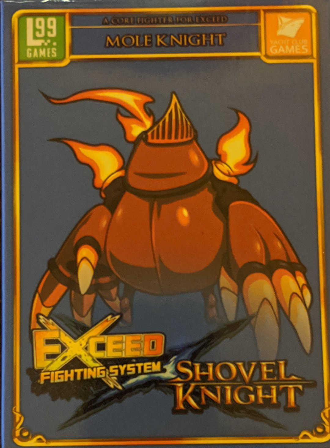exceed shovel knight mole