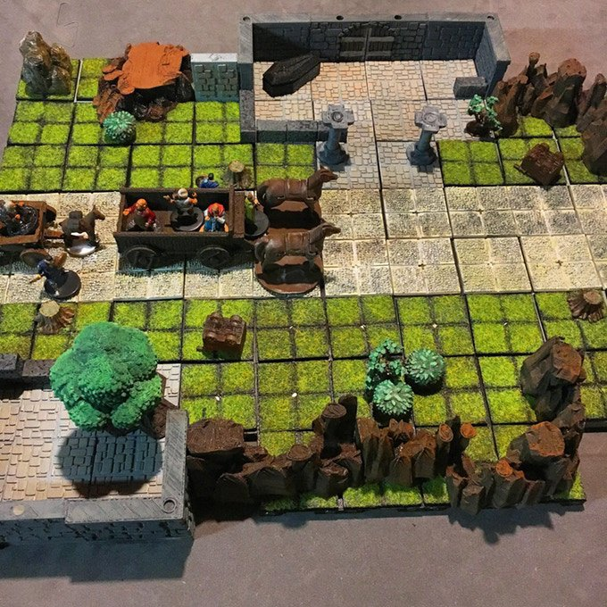 explorers terrain dungeons and dragons