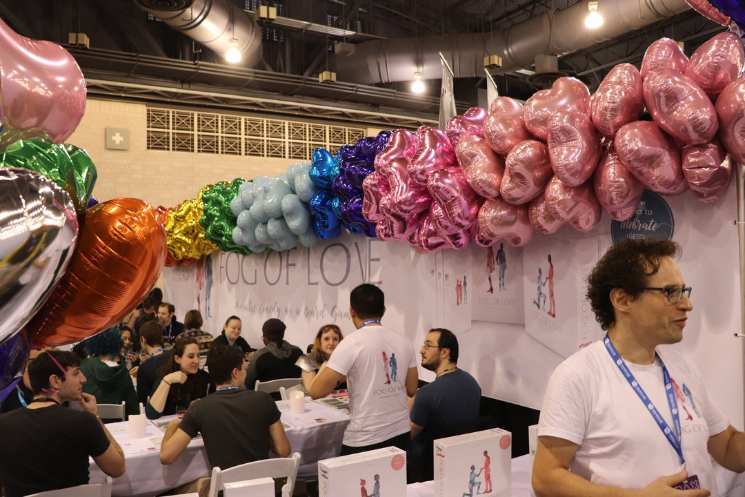 fog of love booth