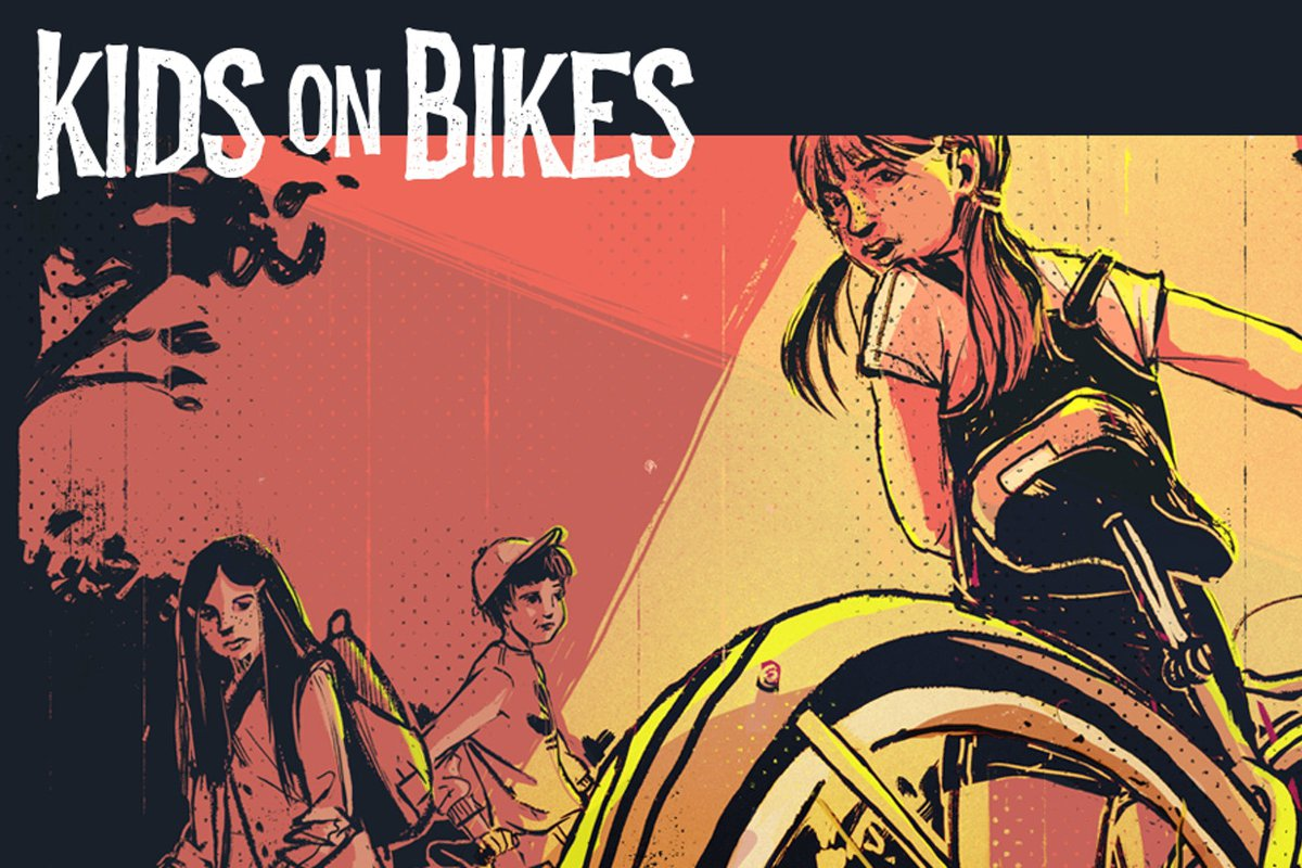 kids on bikes header