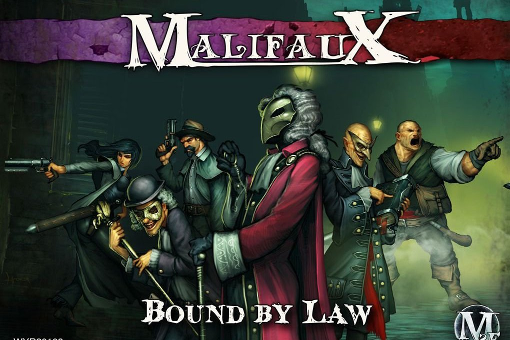 malifaux bound by law sprites and dice