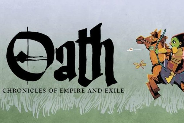 Oath: Chronicles of Empire and Exile (Logo and Character Art)