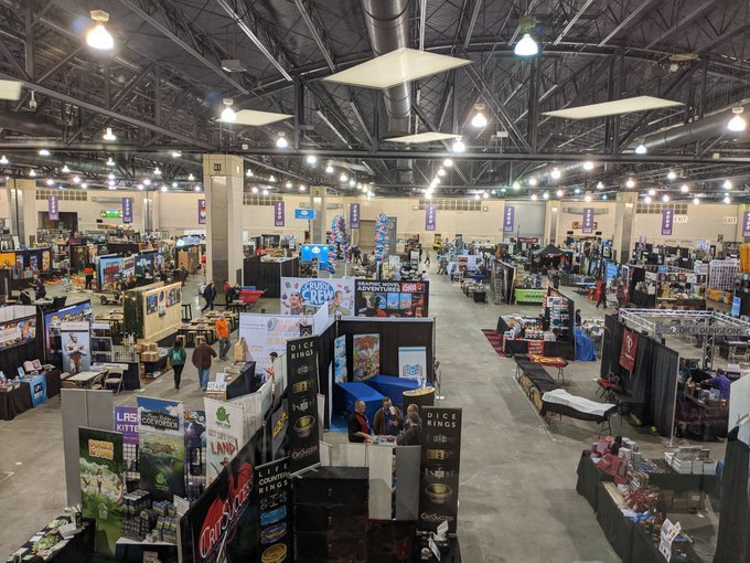 pax unplugged 2019 empty show floor 0
