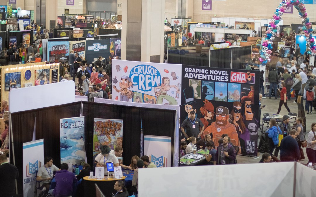pax unplugged 2019 full show floor