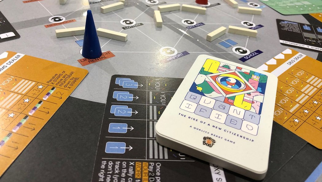 quantified board game review