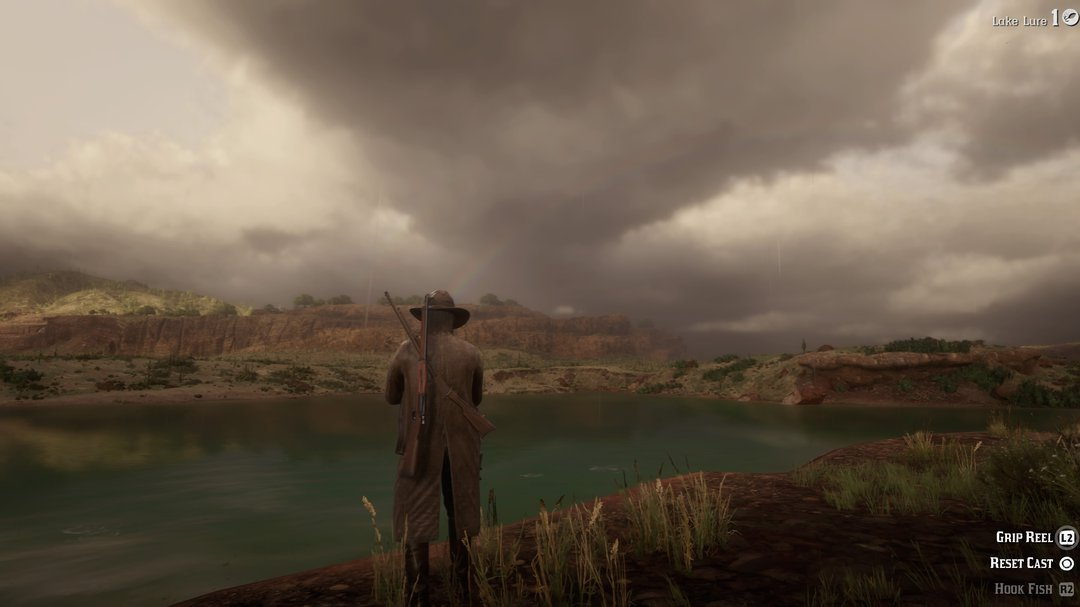 red dead redemption fishing