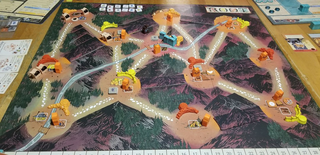 root underworld mountain board