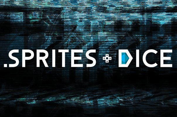 "Sprites and Dice ""Glitchy"" Social Media Banner"