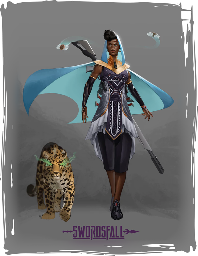 swordsfall art